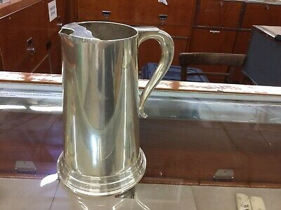 REED &  BARTON Silverplate 32 Oz Water Pitcher With Ice Lip Model 5455