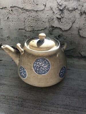 Old Chinese blue and white porcelain pot 11cm