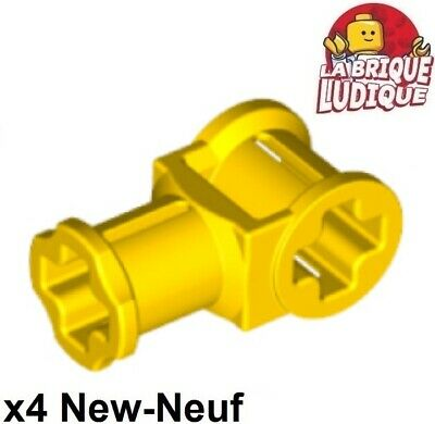 Lego technic 2x Axe Axle connector 3L 2 pins marron//reddish brown 15461 NEUF