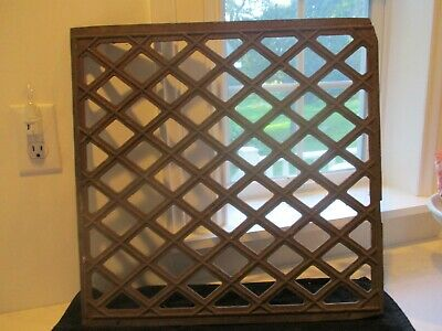 Antique/vintage floor vent/grate/Iron