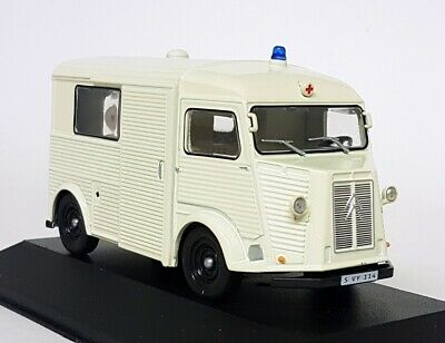 Citroen Type H Van Ambulance 1965 Cream EDICOLA 1:43 ED7495008 Model