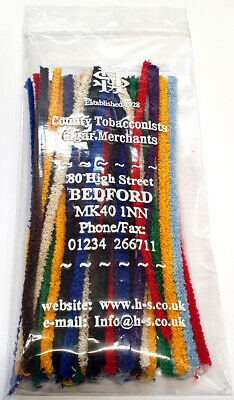 Multi-Coloured Pipe Cleaners - Classic Design (Pack of 50)