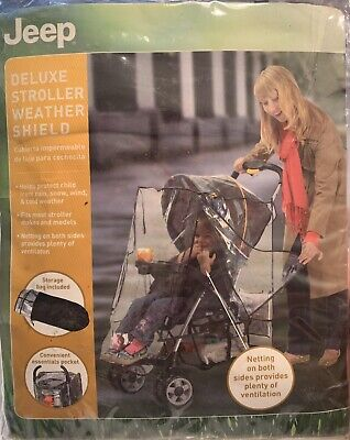 Weather Shield Stroller Cover By Jeep