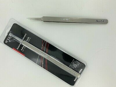 Ultra Fine Point Long Tweezers for Weeding Lifting Micro Items and Gadget Repair