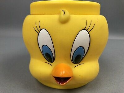Vintage Warner Brothers 1992 Looney Tunes Tweety Bird Devil 3-D Mug Cup