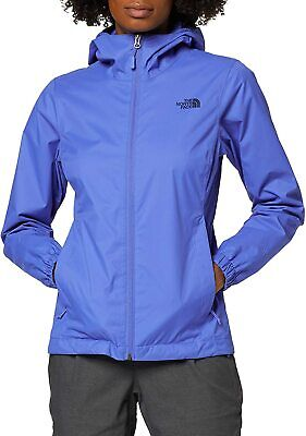The North Face Women's Quest Rain Jacket Amparo Blue - Medium