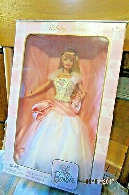 BIRTHDAY WISHES Collector Edition Barbie Doll 1st in Series 1998 Mattel MIB NRFB
