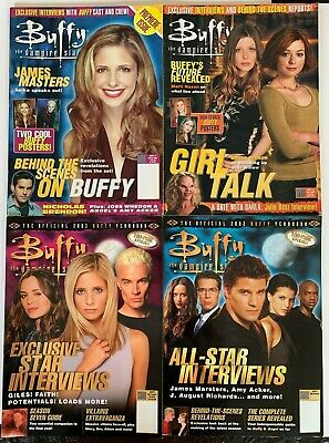 Buffy The Vampire Slayer Magazine Lot #1-28 + 2002/2003 Yearbook