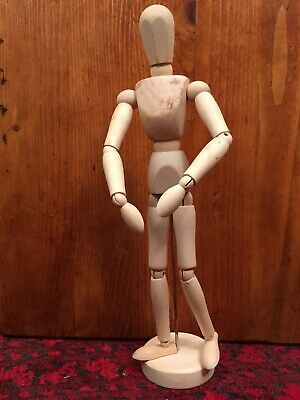 9006 Jakar Artists Wooden Lay Figure Drawing Aid Adult Male Hand Manikin 8/""