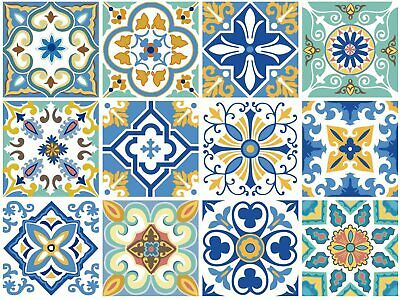 Lovoski 10Pcs//Pack PET Self Adhesive Wall Tile Stickers Decal 15 x 15cm