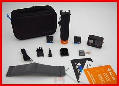 GoPro HERO8 Black Action Camera All You Need Bundle +EXTRA BATTERY +CASE +HANDLE