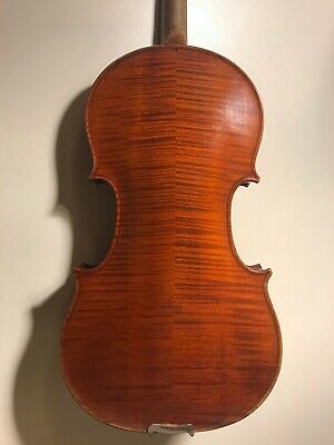 Fantastic French solo violin by Georges Apparut c1930- Video!