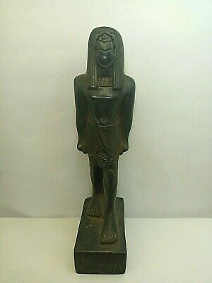 RARE ANCIENT EGYPTIAN ANTIQUE Scarab Stand Statue 1451-1234 BC