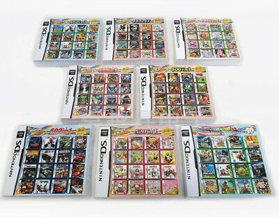 More in 1 Games Cartridge Game Cart For DS NDS NDSL NDSi 2DS 3DS All System