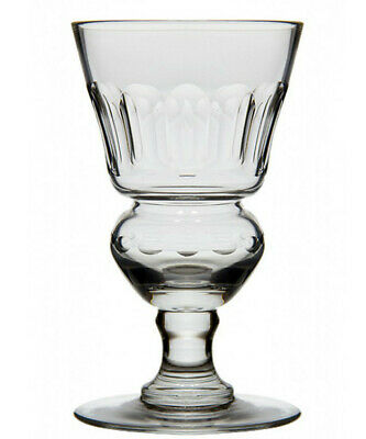Original Blown Pontarlier Absinthe Glass With Facets - Free Shipping
