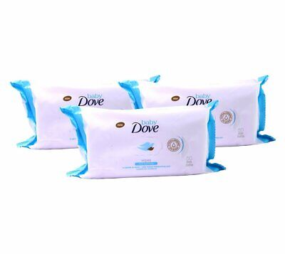 Dove Baby Wipes Rich Moisture, 50 Wipes (Pack of 3)
