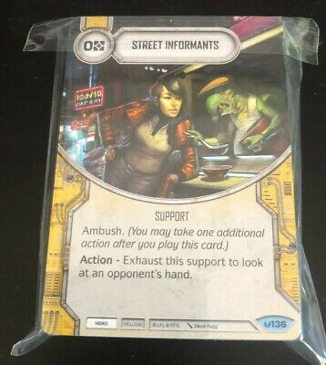 x1 Commanding Presence Sold with matching Die 7 Legendary Star Wars Destiny Aw