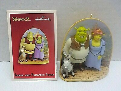 HALLMARK SHREK 2 AND PRINCESS FIONA NEW c