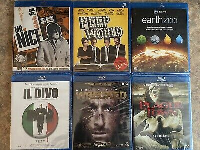 blu ray wholesale lot 6 Titles 10 Copies Of Each 60 Piece Lot ..