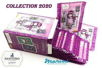Santoro London Gorjuss Panini Box 50 Bustine Figurine Stickers Collection 2020