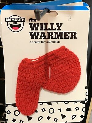 Heater for your Peter Willy Warmer Weiner Weener Knitted Sock - GaG BigMouth Inc