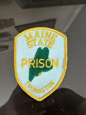 Vintage Patch State of Maine Department of Corrections