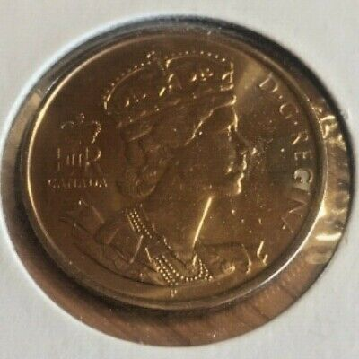 Canada 1952-2002 Queen Elizabeth Commemerative 50 Cent Coin Bu From Mint Roll
