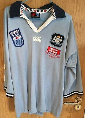 NSW Blues State Of Origin ARL NRL Jersey - Andrew Johns - Large