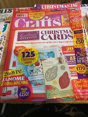 Crafts - Christmas Special 2016 -  Still Sealed With All Free Gifts