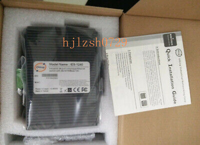 1pcs New ORing IES-1240 24-port Industrial Ethernet Switch