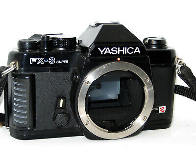 Yashica Fx3 Super  Serviced 100% Funzionante  Fully Working
