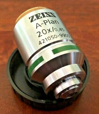 Zeiss A-Plan 20X Objective 0.45 NA infinity-corrected
