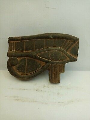 Rare Ancient Egyptian Large Faience Eye Of Horus Amulet 1371 - 1252 Bc