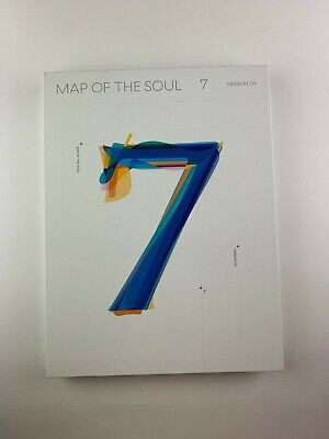 Official BTS Map Of The Soul 7 Version 4 Album No Photocard CD Photobook only UK