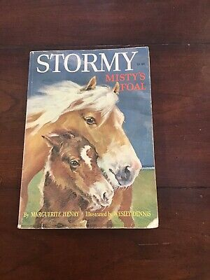 stormy misty's foal Book By Marguerite Henry