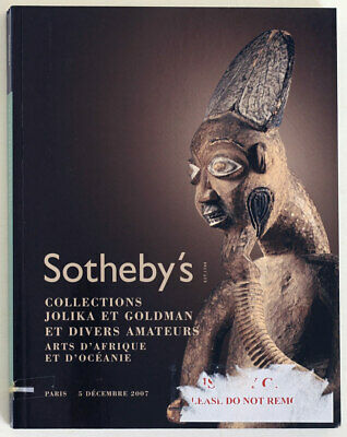SOTHEBY'S Oceanian and African art, 2007 auction catalogue, 296 pages