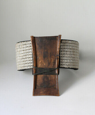 Antique NAGA belt with knife holder, Nagaland, INDIA