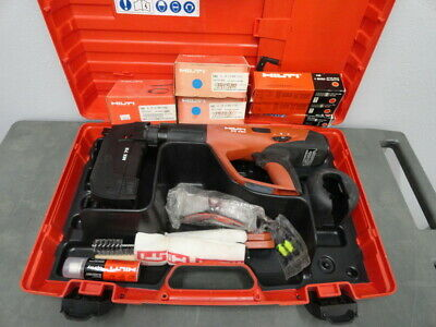 HILTI DX 460 powder actuated nail gun kit F8 & MX 72