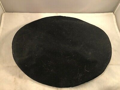 """Vtg Black US Army Wool Cap Cover, Size 6 7/8"""", VG Condition, Estate Item"""