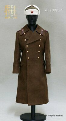 TOY CITY//ALERT LINE//DRAGON 1//6 WW2 RED ARMY//RUSSIAN//SOVIET OFFICER GREATCOAT