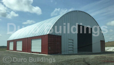 DuroSPAN Steel 33x40x15 Metal Building Shipping Container Cover Open Ends DiRECT