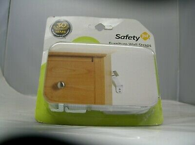 New Safety 1st Furniture Wall Straps 2 in package
