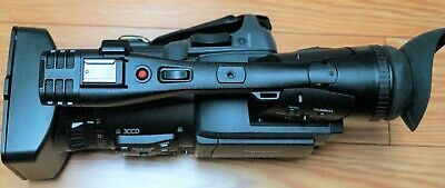 """Panasonic AG-HPX173 1/3"""" 3 CCD P2 HD Handheld Camcorder-not used too much"""