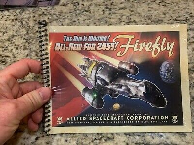 Serenity Firefly Blueprint Tecnical Data Book Loot Crate Exclusive 10 Pgs