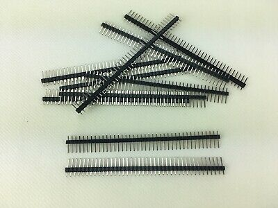 10x Barrette coudé 90° angle mâle header 40 pin 2mm sécable  Arduino DIY EB28