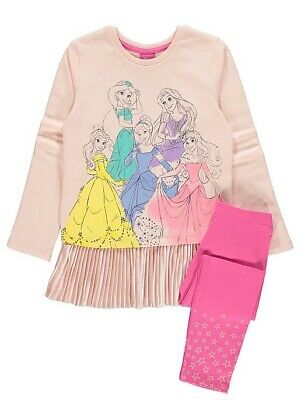 Disney Princess Jumper and Leggings Outfit 1.5-2 Yrs New Jumper Top Outfit