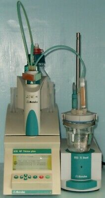 Metrohm 870 Kf Titrino Plus. Karl Fisher Titrator Complete With Stand
