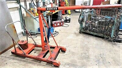 Counterbalanced Floor Crane, Cherry Picker, Engine Hoist Spreuer & Son