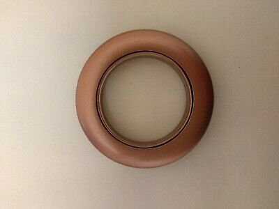 32 Rufflette Jupiter RIngs//MATT NICKEL//for 28mm Curtain Poles//36mm diameter