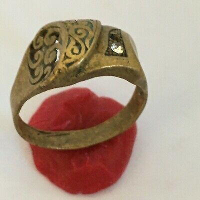 ANCIENT Rare Roman RING Bronze Legionary Old Extremely very nice ring